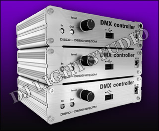 DMX512 Controller - The new generation controller specially